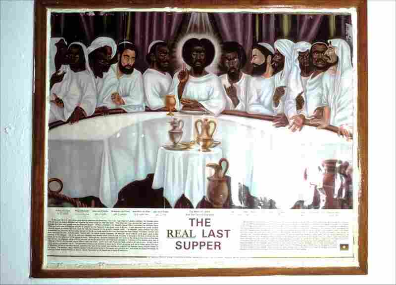 God's history from a black perspective: The Real Last Supper, Mount Zion Holiness Church, Chestnut Street, Camden, N.J., 2003