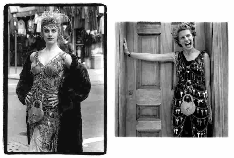 Key Dress, Liz Prince, Orchard Street, 1989 (left). Liz Prince, 2006.