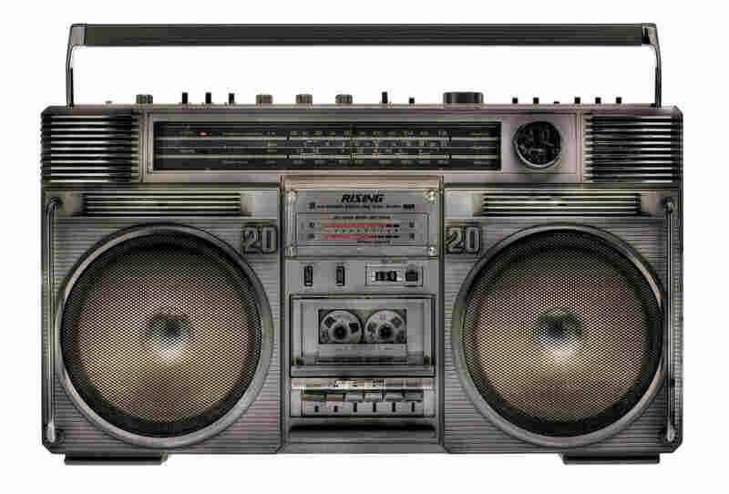 """""""The Rising 2020: one of the quintessential boomboxes. ... There is the photographer JamEl Shabazz who did a lot of the street photography up in Harlem during the late '70s, early '80s, and I remember some of his photographs featuring this box."""""""