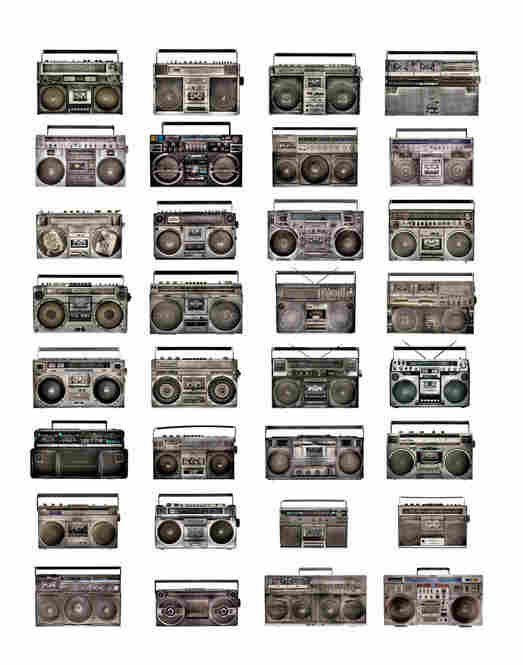 Owerko says that many vintage boomboxes are selling for upwards of $1,000. Those who had one back in the day are probably kicking themselves for not holding on to it.  Fortunately, Owerko doesn't have that problem.