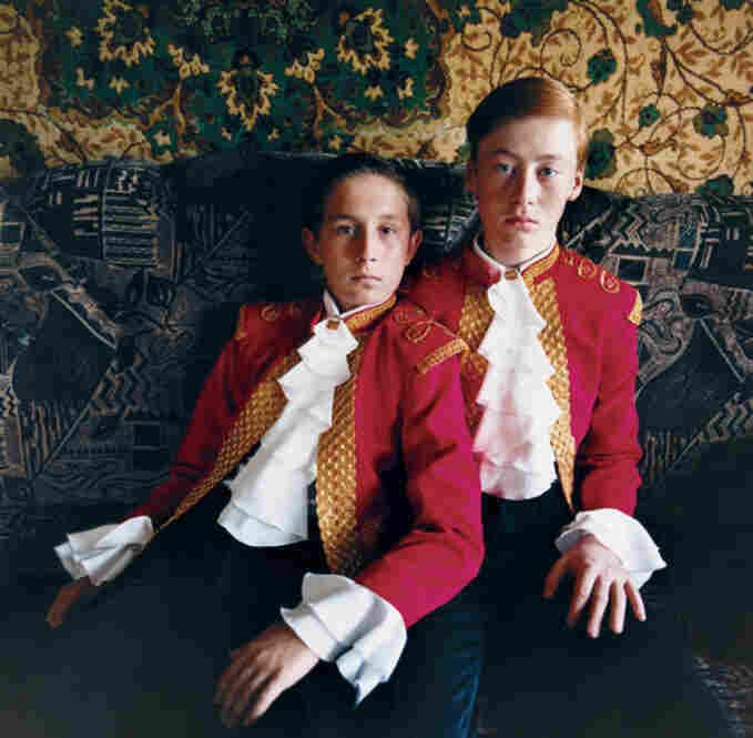 Two Matadors, Ukraine, 2005, Courtesy Michal Chelbin/Andrea Meislin Gallery