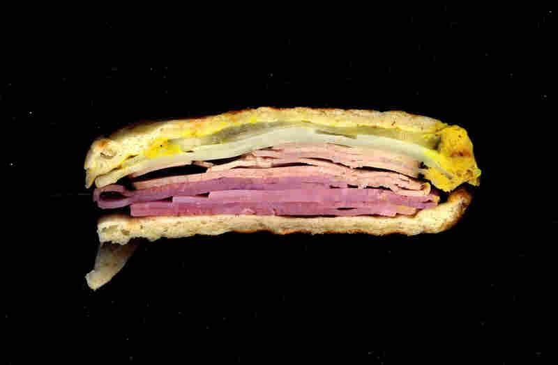 Cuban panini, from D&D Deli