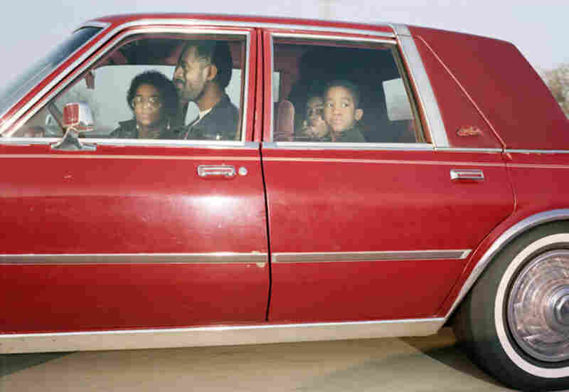 Family traveling northwest at 63 mph on Interstate 244 near Yale Avenue in Tulsa, Okla., at approximately 4:15 p.m. on the last day of 1991