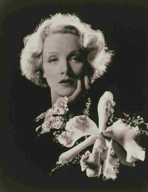 Marlene Dietrich, actress and singer, 1932.