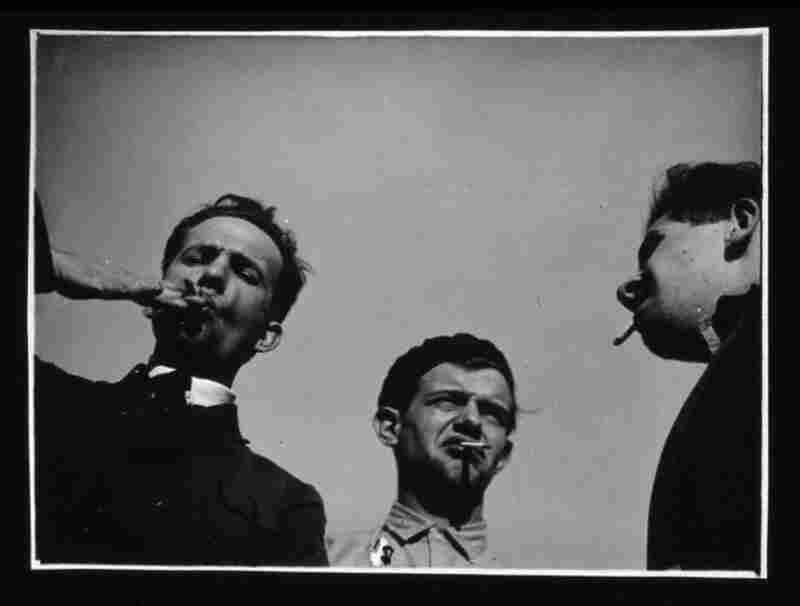 Werner Siedhoff, Albert Menzel and Haftali Rubinstein, circa 1928