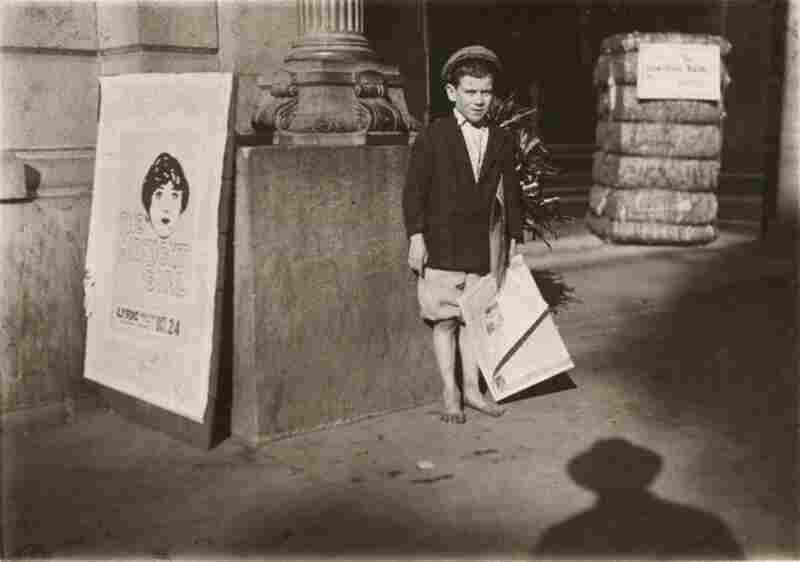 Newsboy, Mobile, Alabama, 1914.