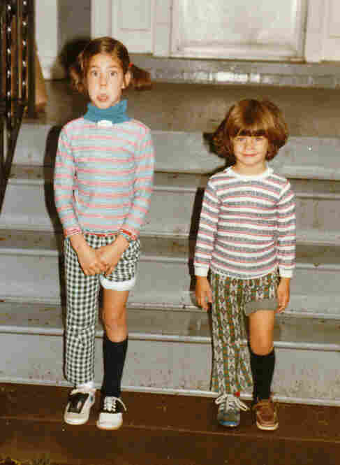 Coburn Dukehart, editor, Photo and Multimedia: It was Backwards Day at my elementary school, and my mother clearly took it to the extreme! She dressed my sister and me (left) in matching mismatched outfits, right down to the hiked-up pant leg and one-sided ponytail. I'm pretty sure we were the only kids at school that so fully embraced the theme.