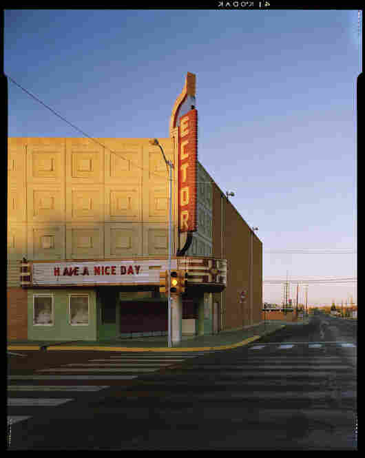 Movie Theater, near Midland, Texas, March 25, 1995, Texas Monthly