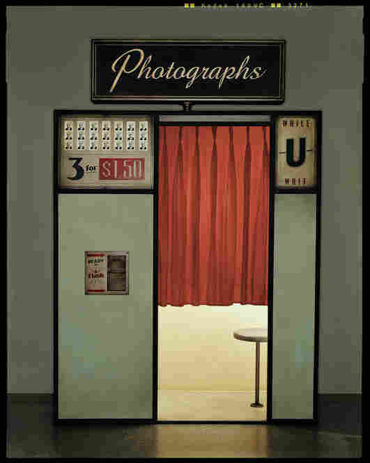 Photo Booth, constructed and photographed in Austin, Texas, September 2003, Entertainment Weekly