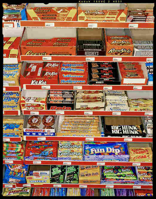 """Candy Rack, Adrian, Texas, """"Midpoint USA,"""" March 23, 2002, Texas Monthly"""