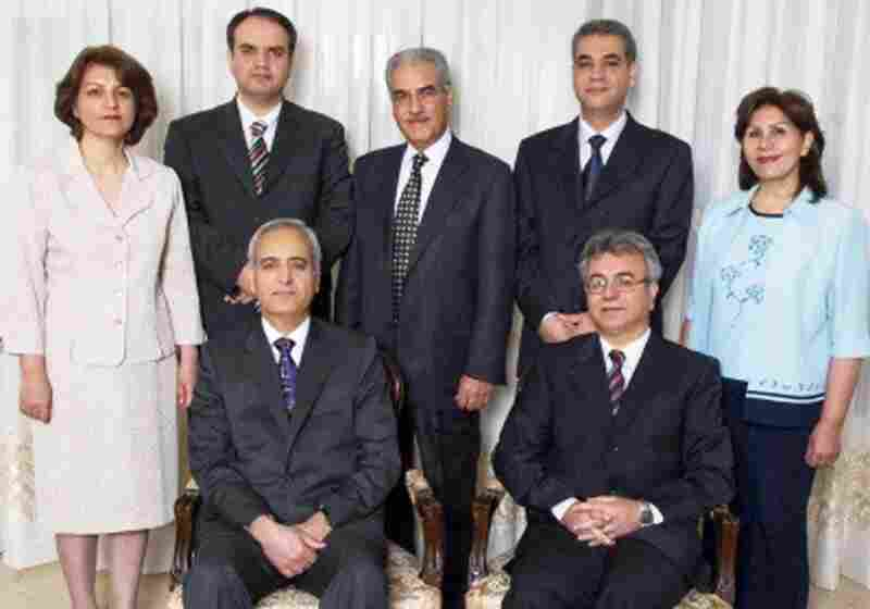 Seven Baha'i leaders are currently being detained in Evin prison.There are approximately 300,000 members of the Baha'i Faith in Iran, and persecution of members has included home raids and propery confiscation.Seated from left: Behrouz Tavakkoli and Saeid RezaieStanding from left: Fariba Kamalabadi, Vahid Tizfahm, Jamaloddin Khanjani, Afif Naemi and Mahvash Sabet  (Photo courtesy of the Interna...