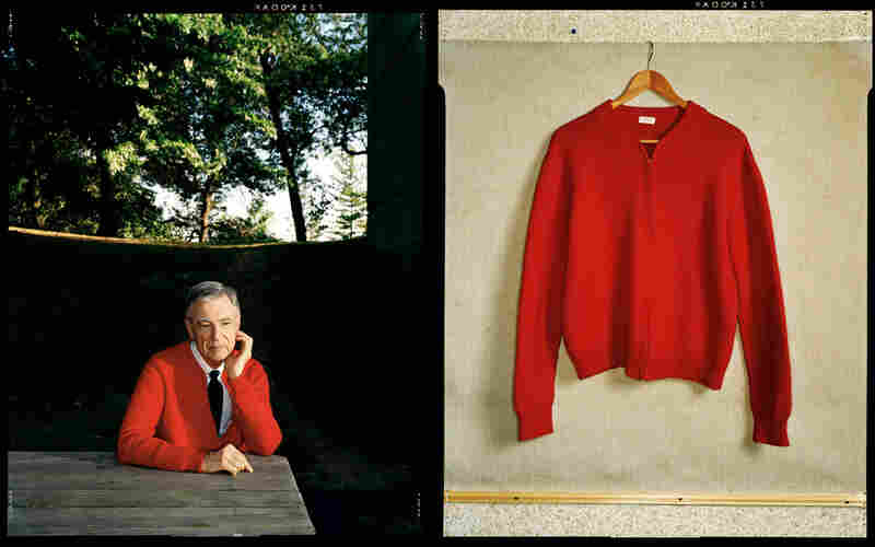 Fred Rogers and Fred Rogers' Sweater, Pittsburgh, Aug. 17, 1998, Esquire