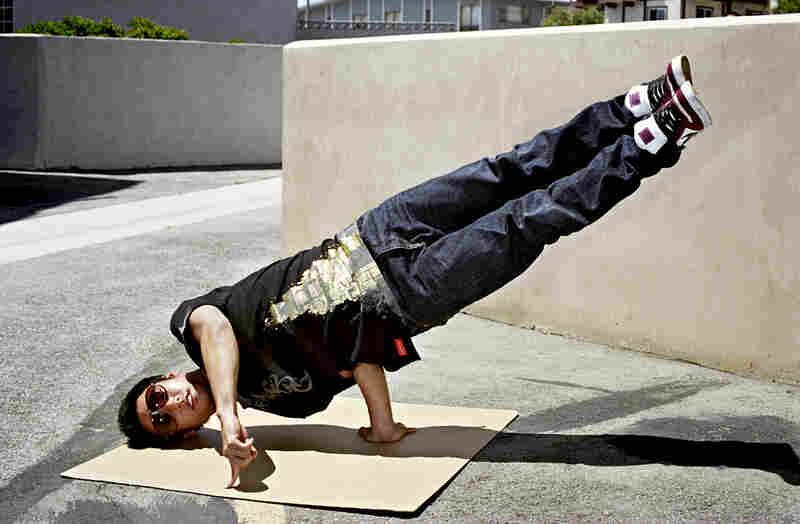 "The hip-hop art of b-boying, or breakdancing, rose out of New York City in the late 1970s and quickly spread to Los Angeles and other urban areas. As one Los Angeles b-boy, Longka Michael Lor, says: ""B-boying is an art. ... Every time I get down ... I'm painting my art onto the floor with my moves."""