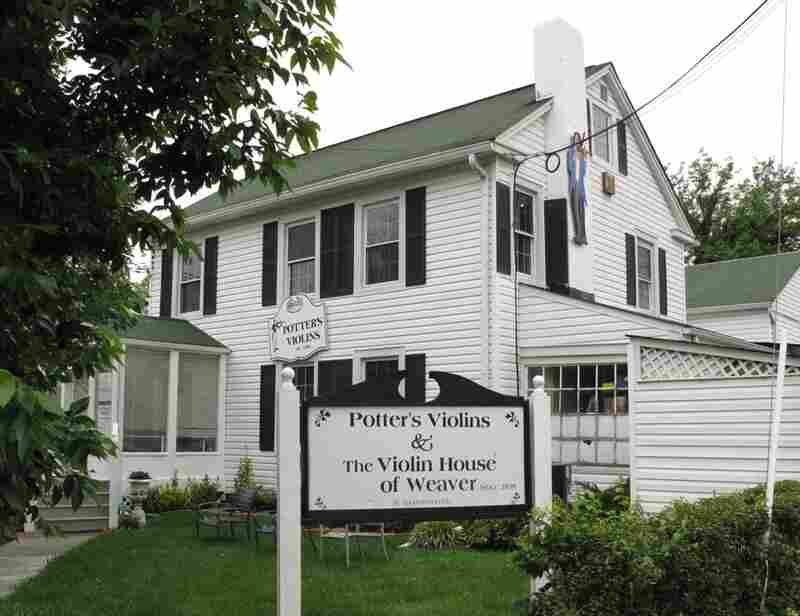 The Potter Violin Company is based in Bethesda, Maryland.