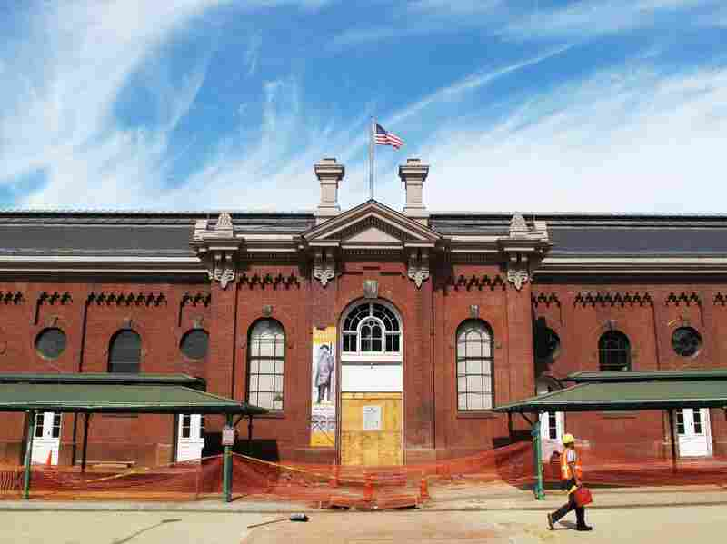Eastern Market, which was designed by architect Adolph Cluss in 1873, was badly damaged by a fire in 2007.