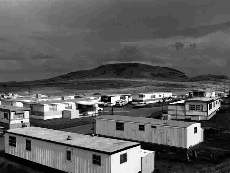 Mobile Homes, Jefferson County, Colo., 1973, by American photographer Robert Adams.