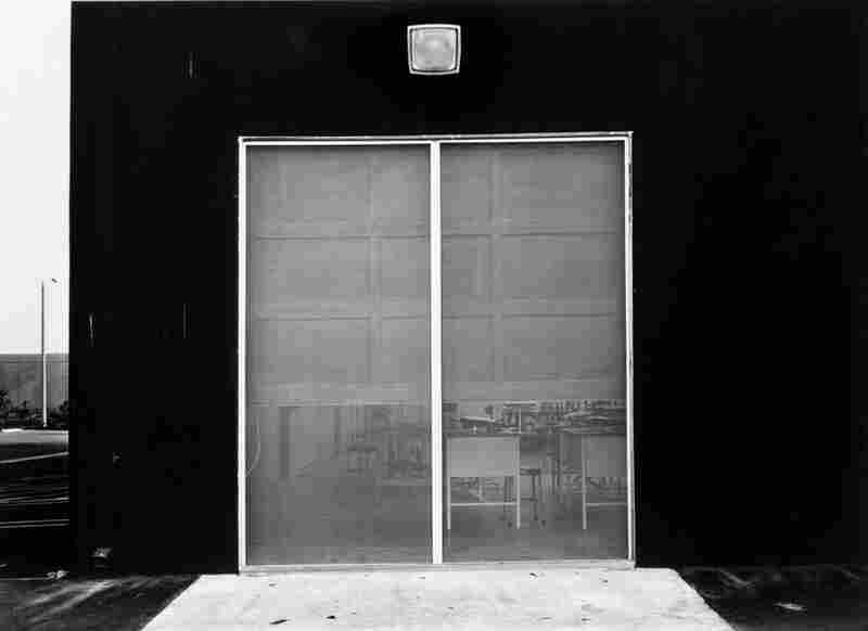 South Corner, Riccar America Company, 3184 Pullman, Costa Mesa, 1974, by American photographer Lewis Baltz