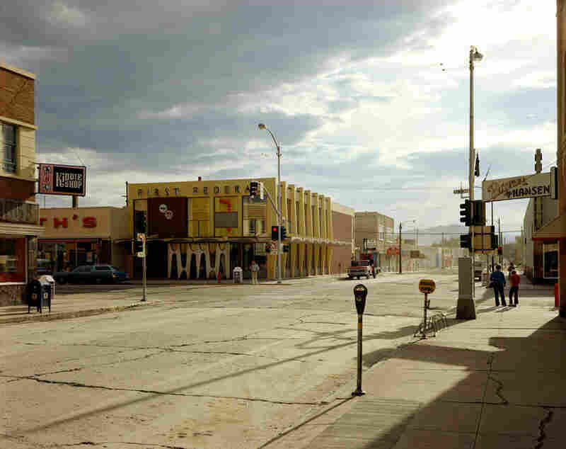 2nd Street East and South Main Street, Kalispell, Mont., Aug. 22, 1974, Stephen Shore
