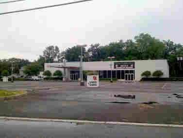 GM, which entered bankruptcy in June, announced it would close 2,300 dealerships. It's selling the Saturn brand to Penske Automotive Group. This empty Saturn dealership is in Pompton Plains, New Jersey. Jason Rosenfeld via Facebook