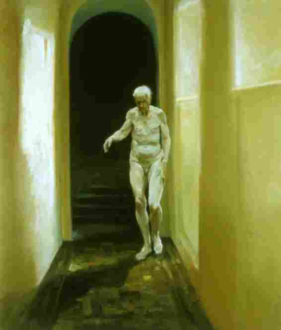 Eric Fischl, Frailty Is a Moment of Self-reflection, 1996.