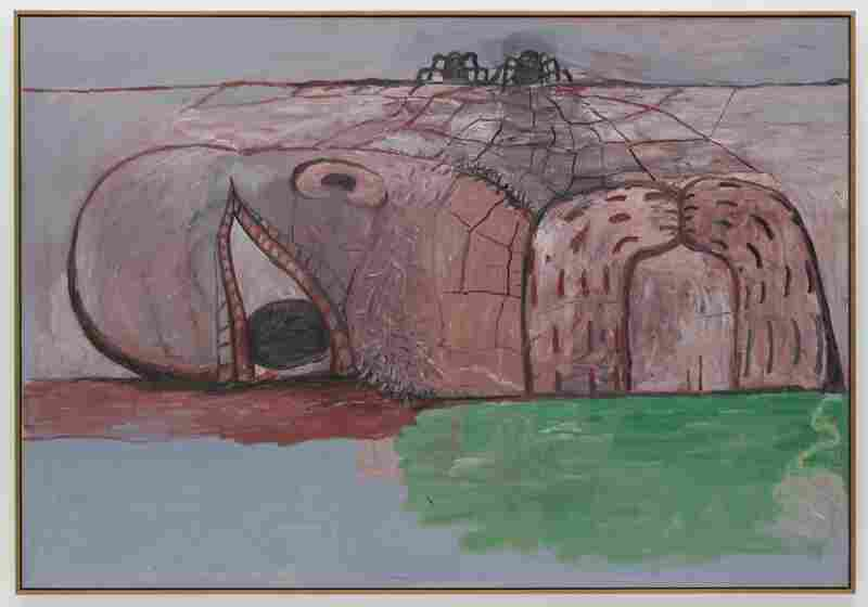 Philip Guston, Web, 1975.  The Museum of Modern Art
