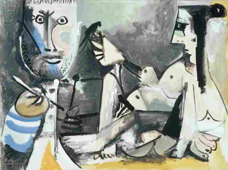 Pablo Picasso, The Artist and his Model, 1964.  Albright-Knox Art Gallery