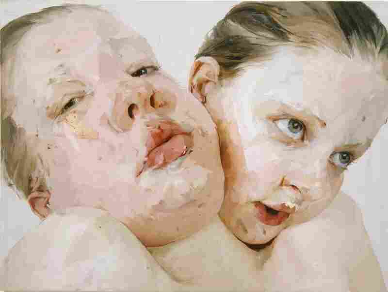 Jenny Saville, Hyphen, 1999.  Private Collection