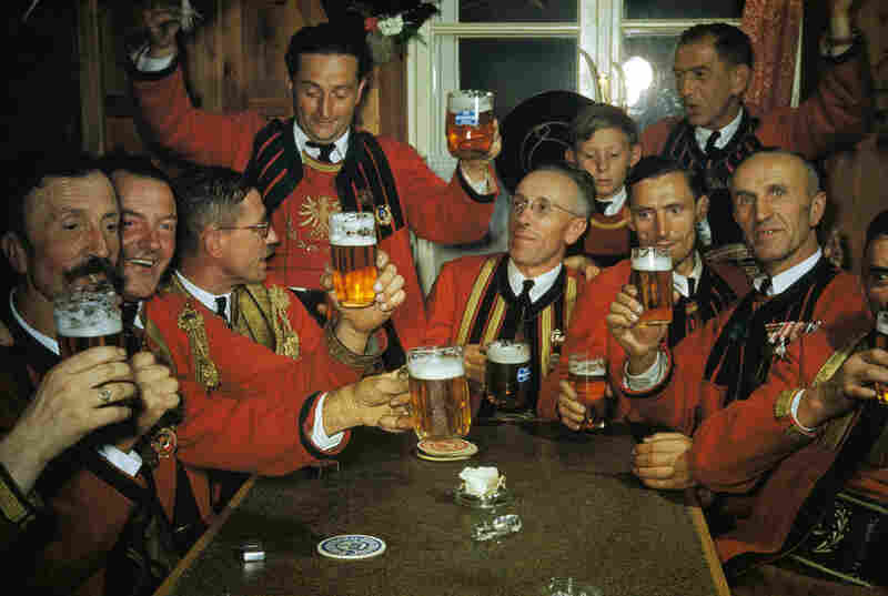 The band in Matrei, Austria, raises a toast to the 1,700th birthday of their city.