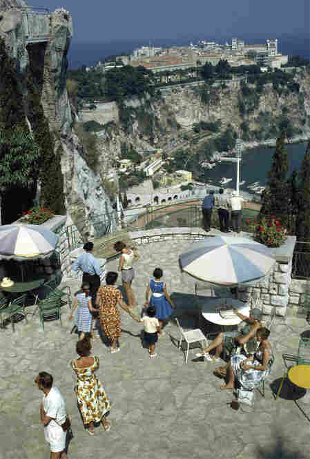 Monaco's Exotic Garden was built in 1931 by Prince Albert I who wanted to bring subtropical plant life to the French Alps. It was photographed here in 1963.