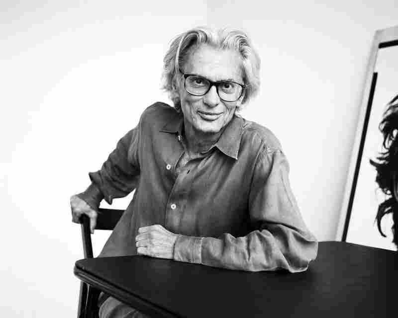 """Richard Avedon asked me to take his portrait at the time of one of his retrospectives,"" Lacombe writes. ""I was very honored, as I admired him very much.""  Richard Avedon, in his studio, East 75th Street, New York, New York, 2001"