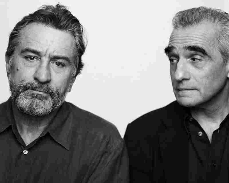 """I have worked with Martin Scorsese for the last few years,"" writes Lacombe. ""I love working with him. He is the most interesting man — knowledgeable, generous, and always gives credit to other people.  He is a great storyteller, very funny.""  Robert De Niro, Martin Scorsese, New York, 2002"