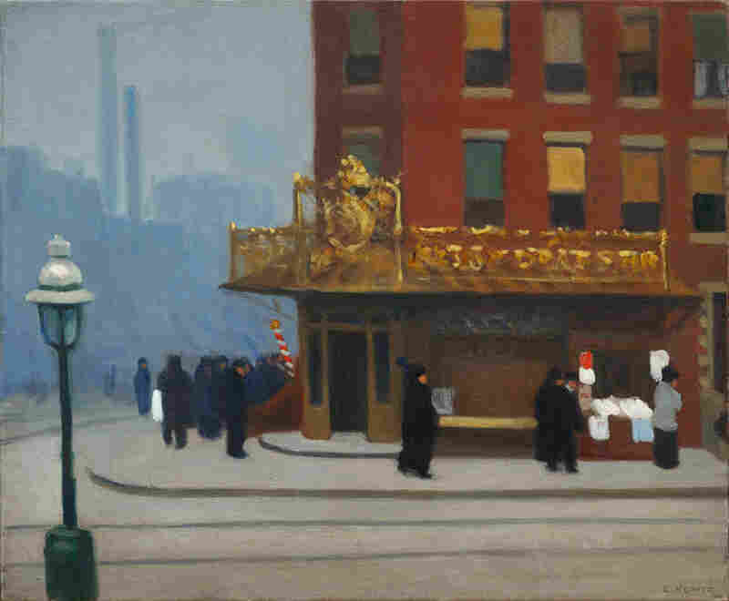 Edward Hopper, New York Corner (Corner Saloon), 1913