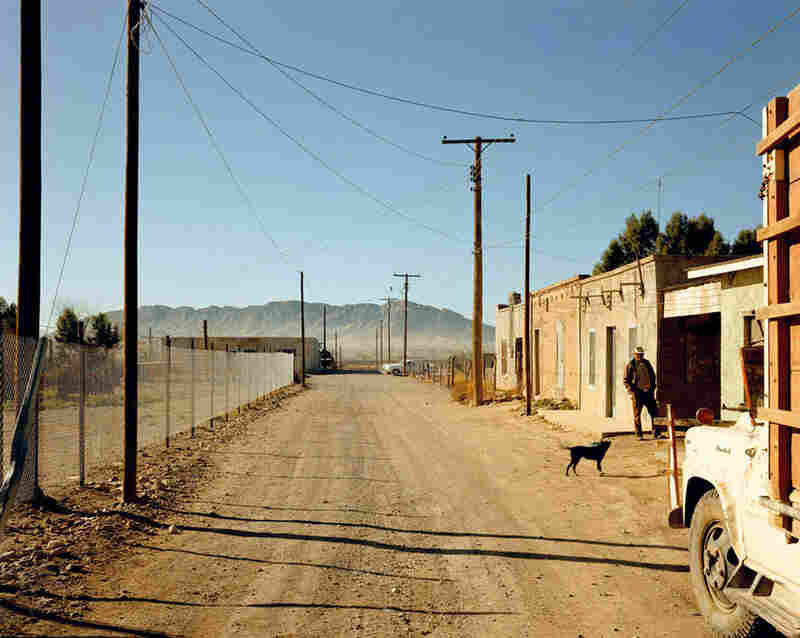 Stephen Shore, Back Road, Presidio, Texas, 1975