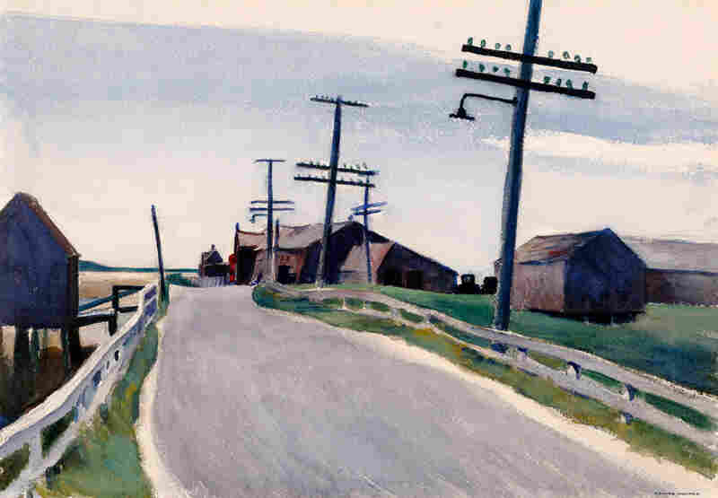 Edward Hopper, Wellfleet Road, 1931