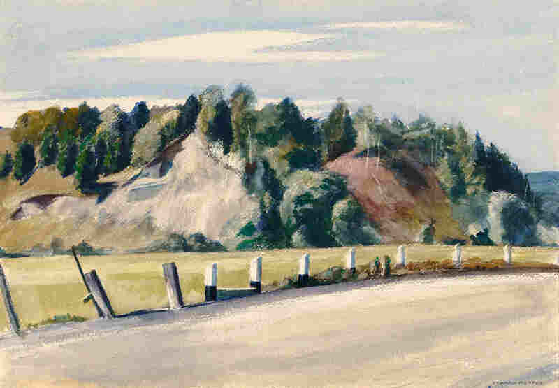 Edward Hopper, Route 14, Vermont, 1937