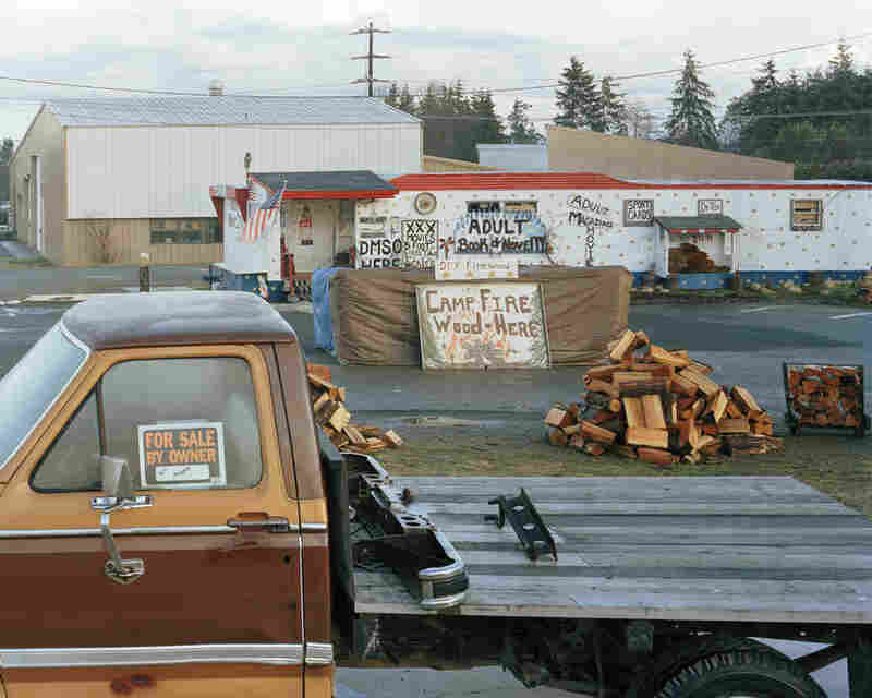 Adult books, firewood and a truck for sale, Port Angeles, Wash.