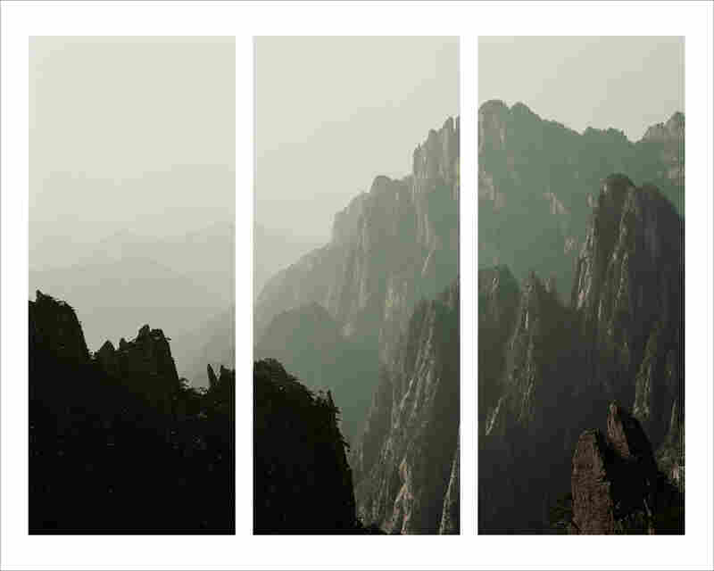 "Darren Almond uses the moon as his only source of light, using extended exposure time to turn night into day. For his series ""Fullmoons,"" he was drawn to the Yellow Mountain range, known as Xihai or Huangshan in the Anhui province of China."