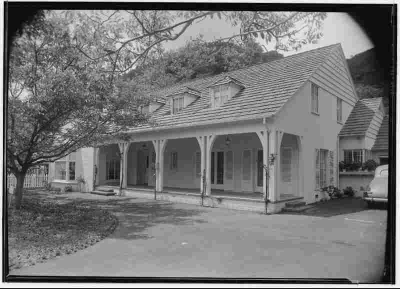 Exterior of Judy Garland's residence, January 1940