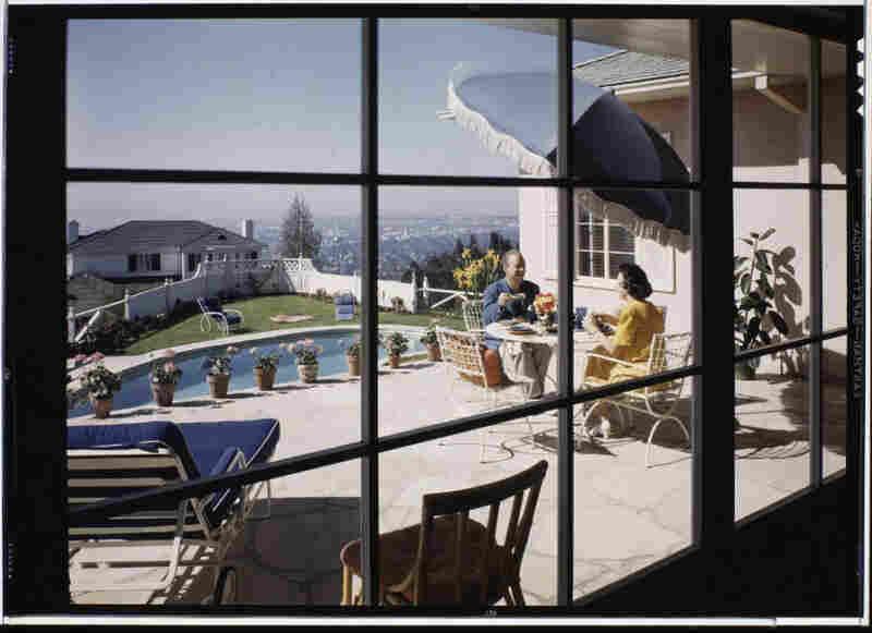 Mr. and Mrs. Jack Moss residence, Los Angeles, 1945. Jack Moss, interior designer.