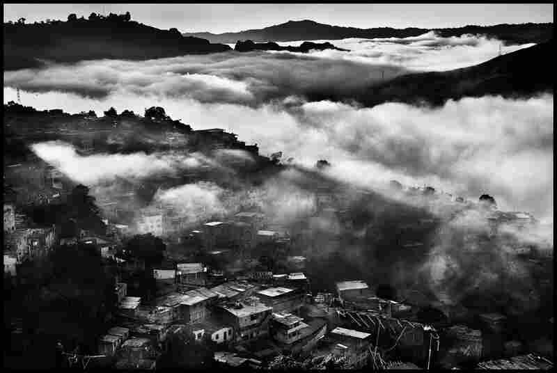 The barrio Petare in western Caracas, Venezuela 2007.