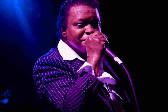 Lee Fields performs at Joe's Pub in New York City, July 21, 2009.