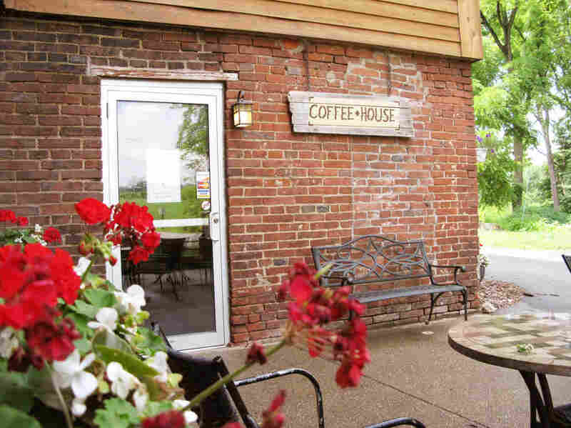 The Coffeehouse is the Gristmill's most recent addtion. The bricks that make up the Gristmill were hand-made by monks when the building was constructed in 1854.