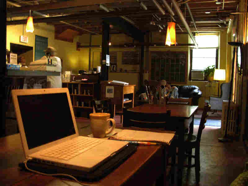 Wireless internet is offered free of charge in the coffeehouse.  Students at the college consider it a place all their own, where they have an opportunity to meet and interact with monks who drop by for a cup of coffee.
