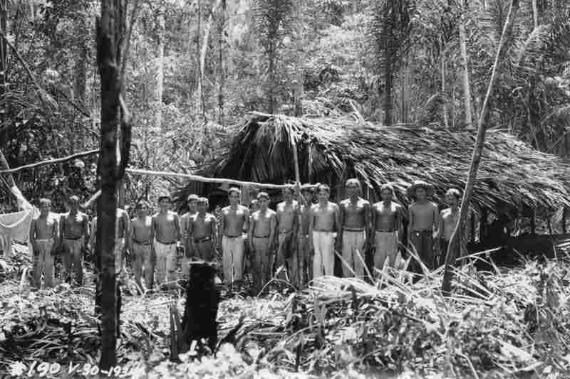 Many of the plantation workers were to the jungle and were moved into American style housing.