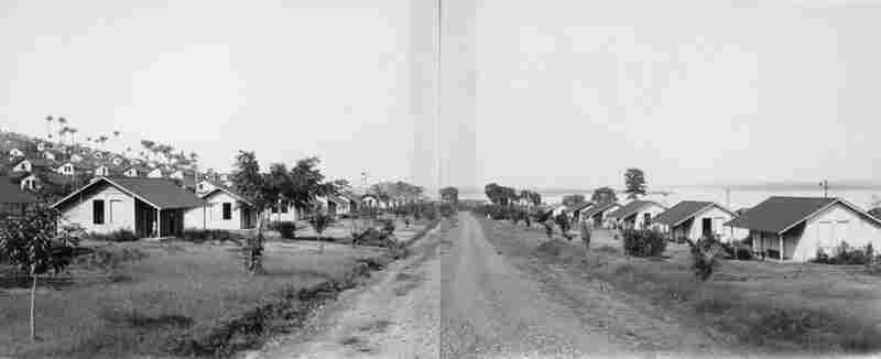 Along with the construction of the rubber plantation, Ford also created small American towns that included central squares, indoor plumbing, golf courses and hospitals.