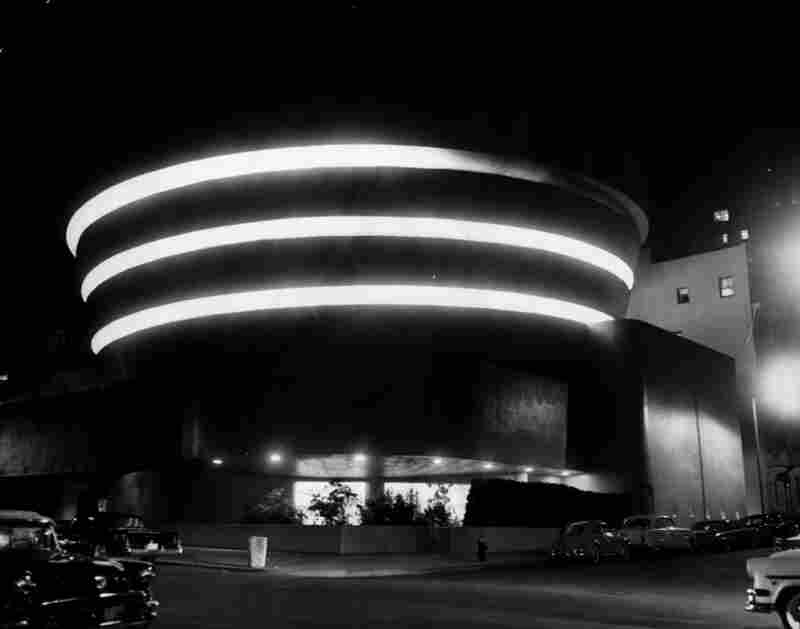 "Wright developed the concept of ""organic architecture"" — the notion that a building should develop out of its surroundings — which he used in designing the Guggenheim."