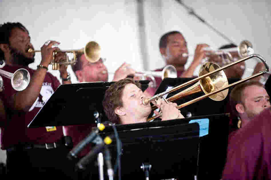 North Carolina Central University Big Band.