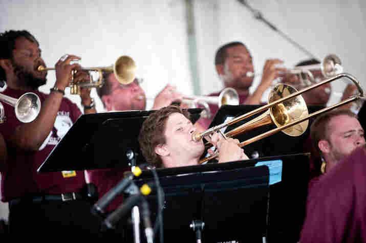 North Carolina Central University Big Band.
