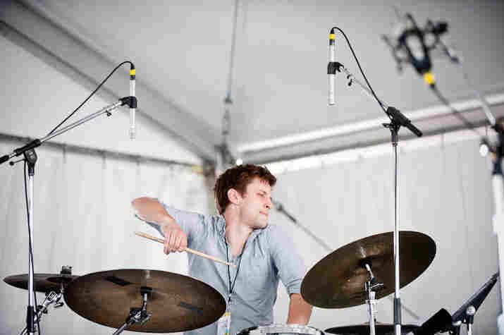 Eric Doob of the Miguel Zenon Quartet.