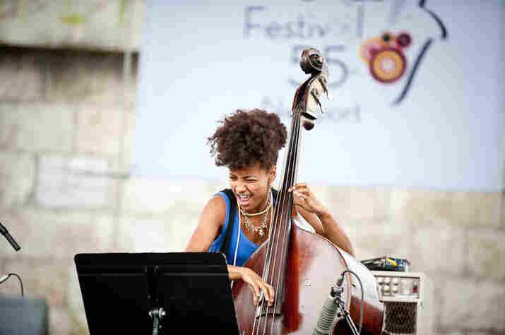 Esperanza Spalding performs with The Joe Lovano UsFive.